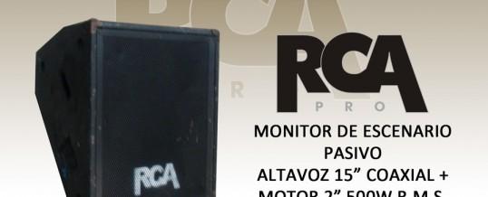 MONITOR SUELO RCA 15″+2″