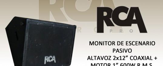 MONITOR ESCENARIO RCA 2×12″