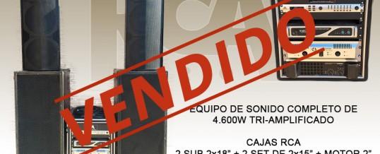 EQUIPO COMPLETO 4.600W