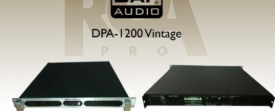 DAP AUDIO DPA-1200 VINTAGE