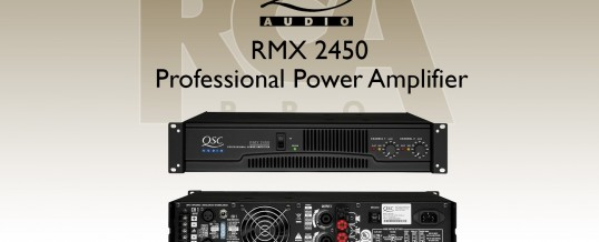 QSC AUDIO RMX-2450