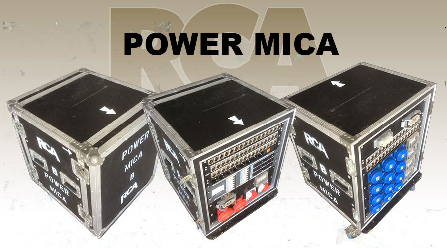 POWER MICA RACK