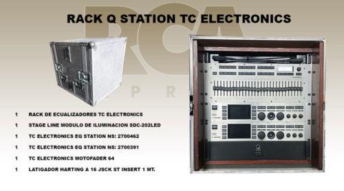 TC ELECTRONICS QSTATION RACK EQUALIZER