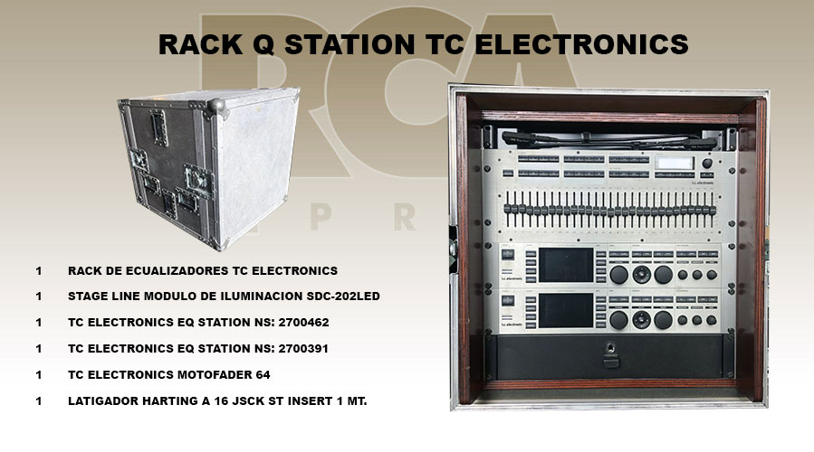 TC ELECTRONICS QSTATION RACK EQUALIZER